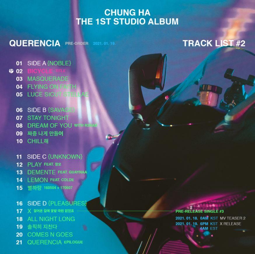 Chungha le entra al reggaetón y lanzará una canción con Guaynaa en su primer álbum