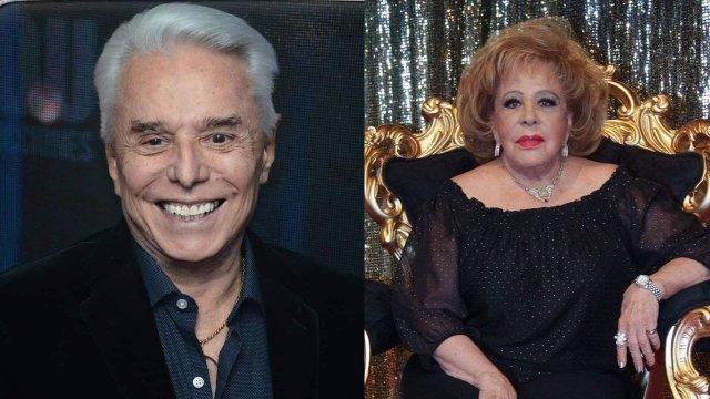 Enrique Guzmán y Silvia Pinal