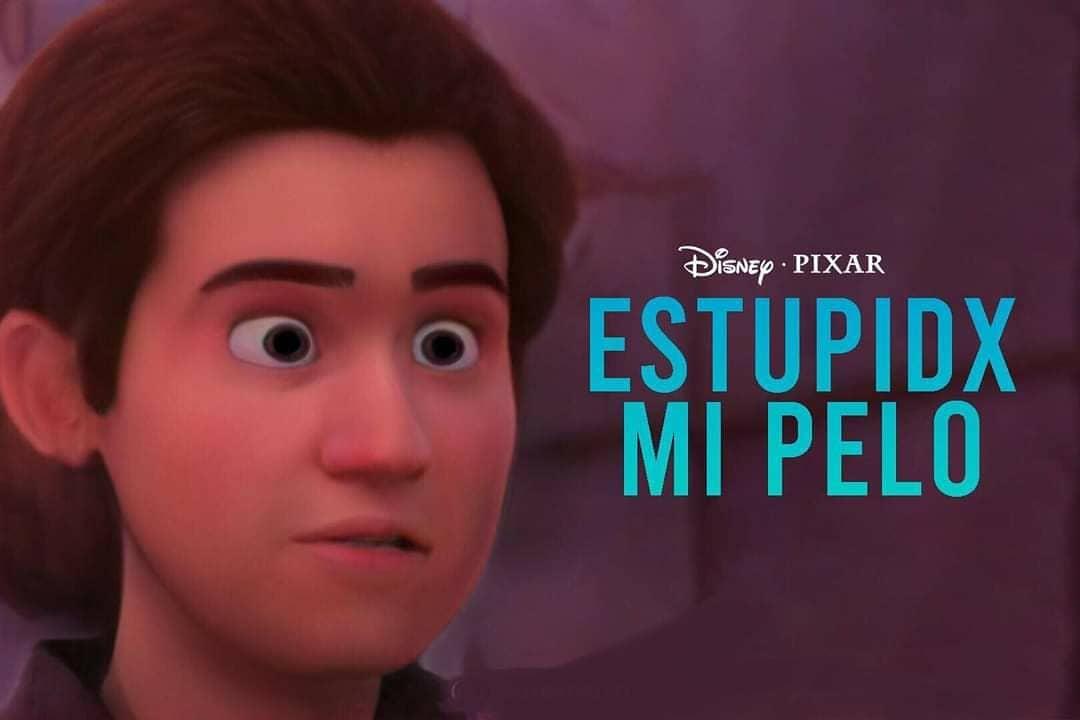 Estupida mi pelo Disney Pixar