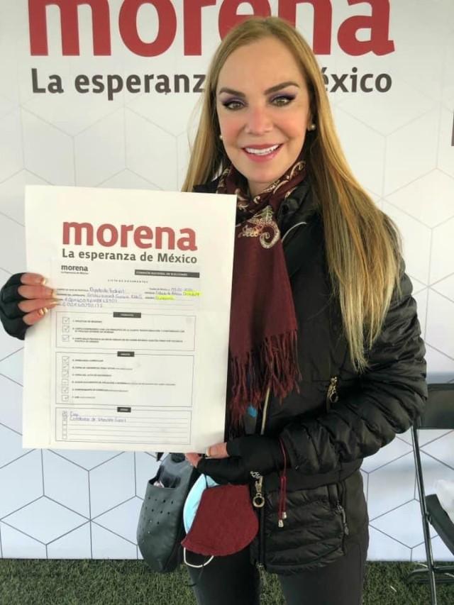 Gabriela Goldsmith en Morena