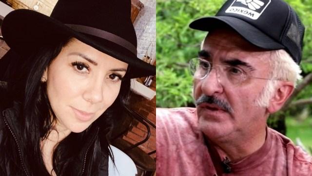 Karina Ortegón revela fotos de los golpes que le dio Vicente Fernández Jr