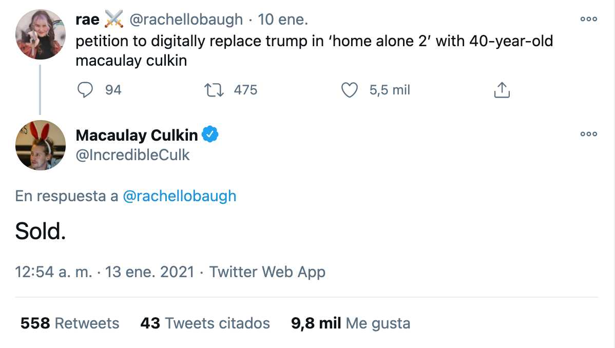 Macaulay Culkin pide quitar escena de Trump en Home Alone 2