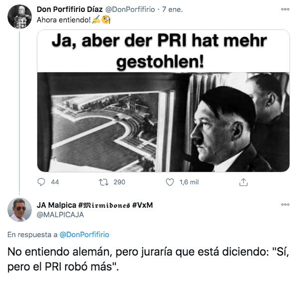 Meme de Hitler México