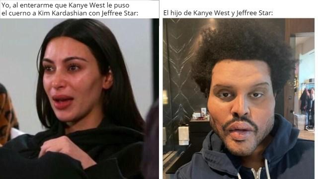 Los mejores memes del divorcio de Kim Kardashian y Kanye West