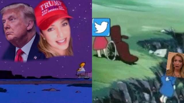 Memes de Paty Navidad y Trump por sus cuentas de twitter