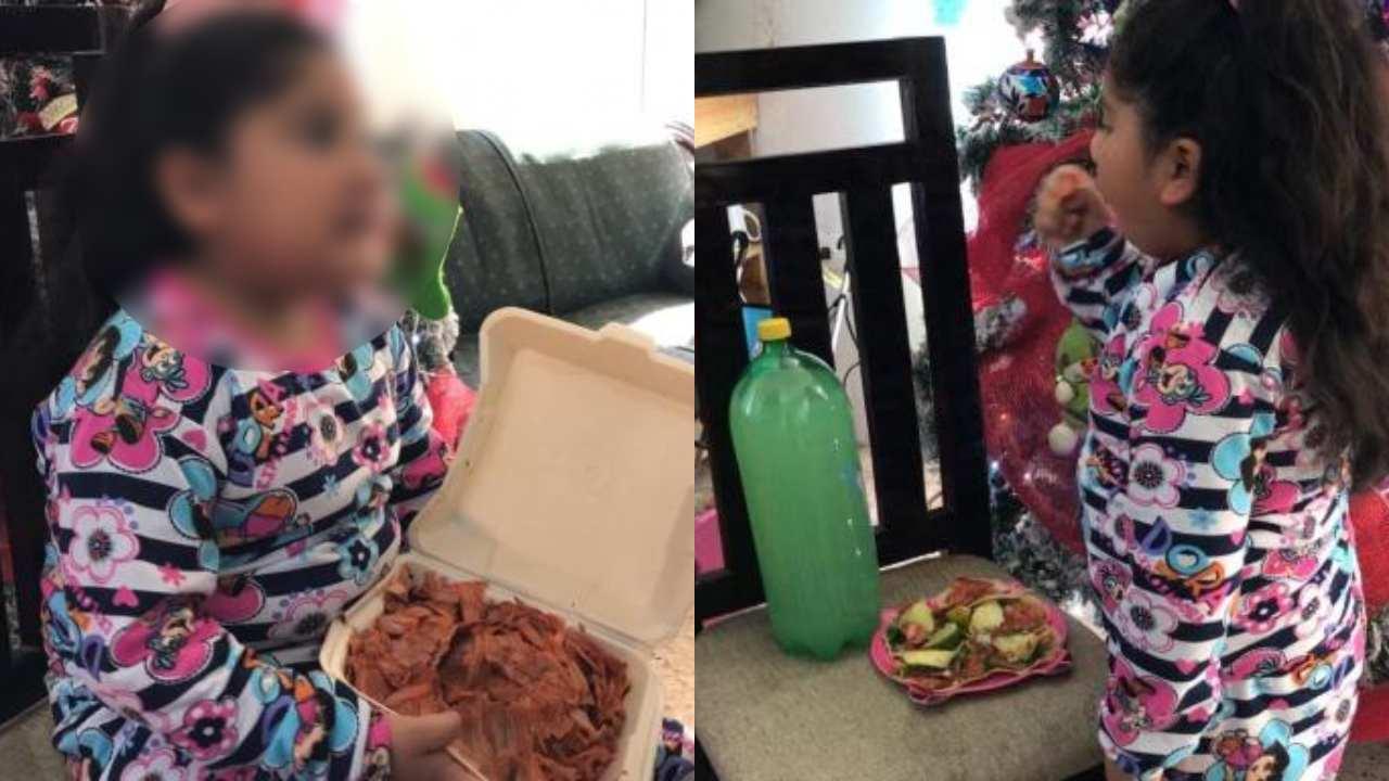 Niña pide tacos en lugar de juguetes a los Reyes Magos