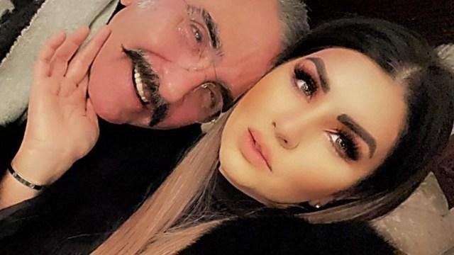 Vicente fernández Jr recibe crítica de su novia