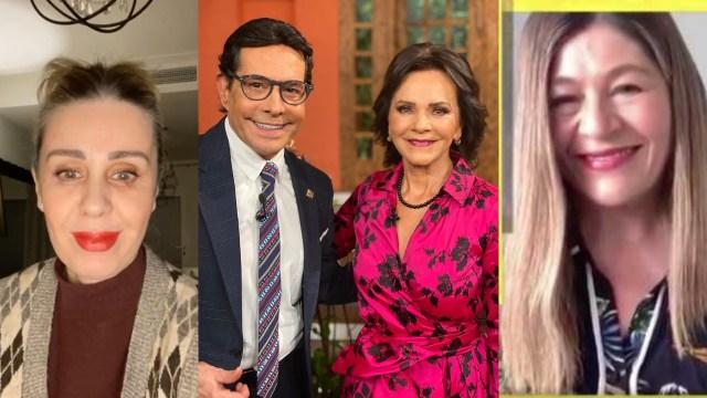 Pepillo Origel, Martha Figueroa y Atala Sarmiento desfilan con Pati Chapoy en 'Ventaneando'