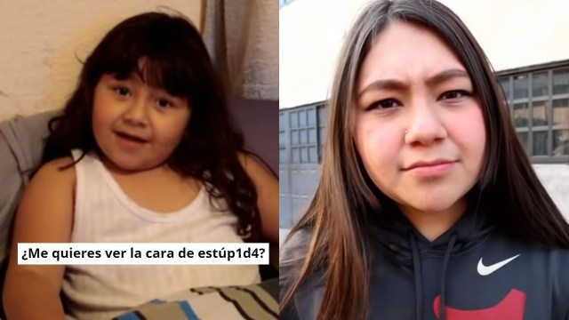 """Niukita Niña del meme """"¿me quieres ver la cara de estúpida?"""" reaparece para hablar de su video"""