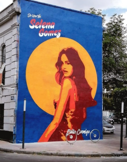 Selena Gomez bardas CDMX