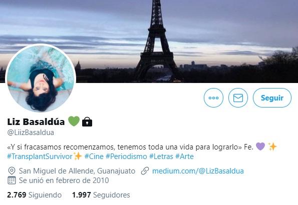 Twitter Liz Basaldua