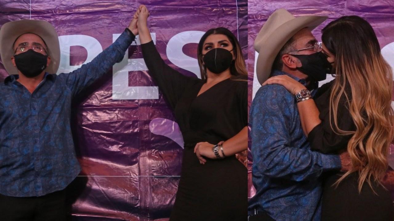 Vicente Fernández Jr y su novia se lanzan como precandidatos a diputados del PES