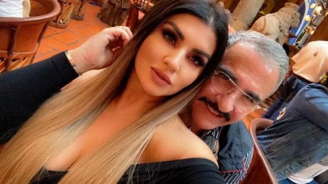 Vicente Fernández Jr y novia Mariana