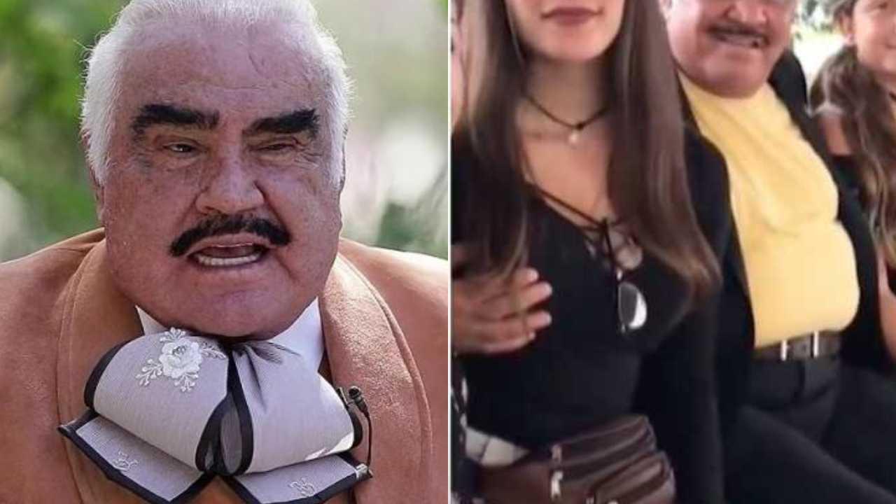 Joven que acosó Vicente Fernández reacciona al video viral donde la toca