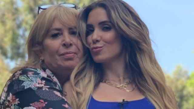 Andrea y su mamá Magda