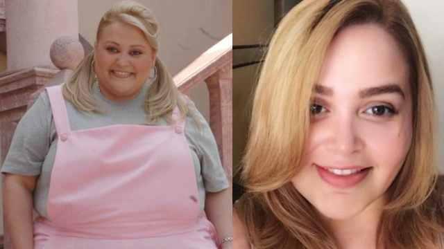 Sheyla antes y ahora