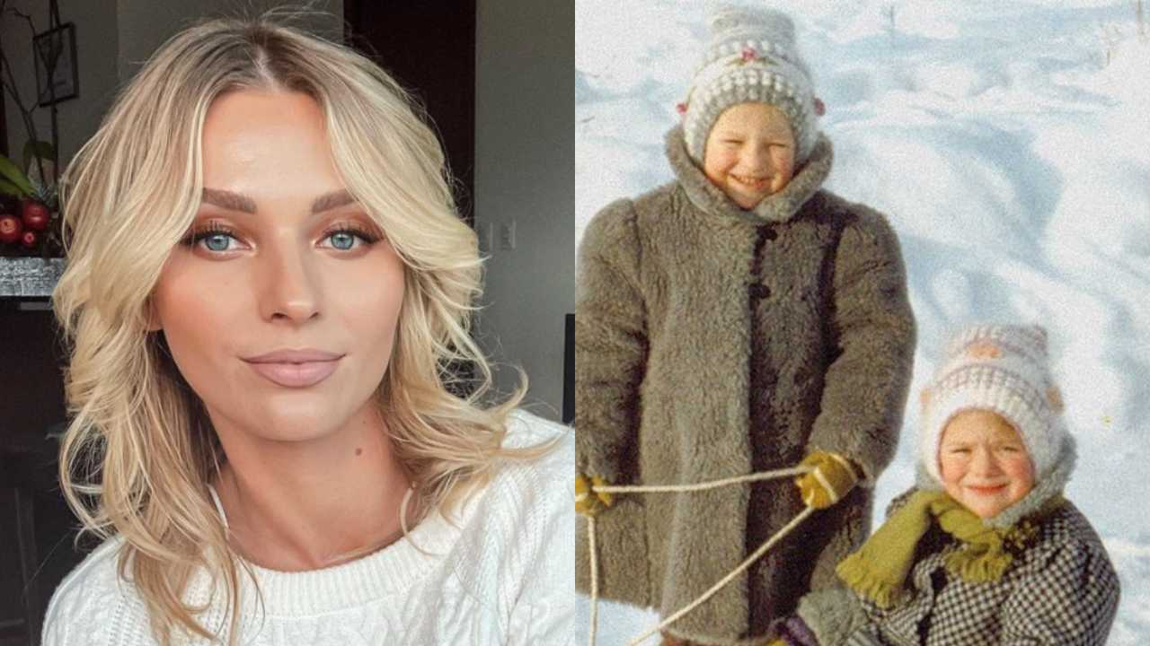Irina Baeva: así lucía la actriz cuando era niña y vivía en Rusia