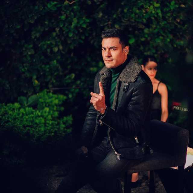 El cantante Carlos Rivera
