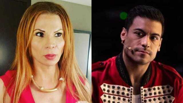 Mhoni Vidente y Carlos Rivera