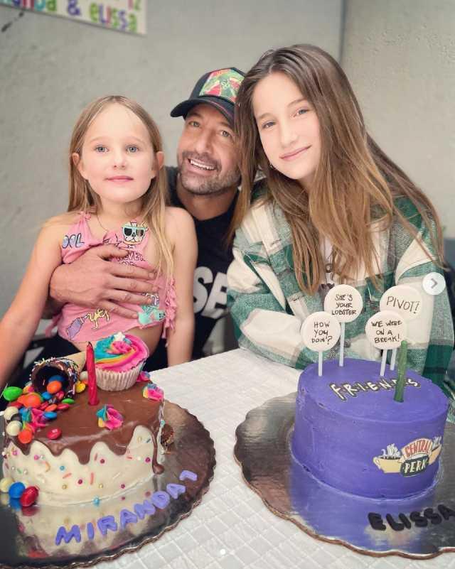 Gabriel Soto presume fiesta de cumpleaños de sus hijas
