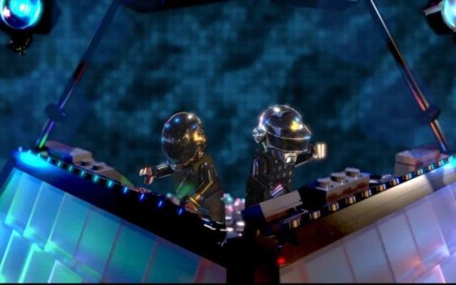 LEGO Daft Punk cascos