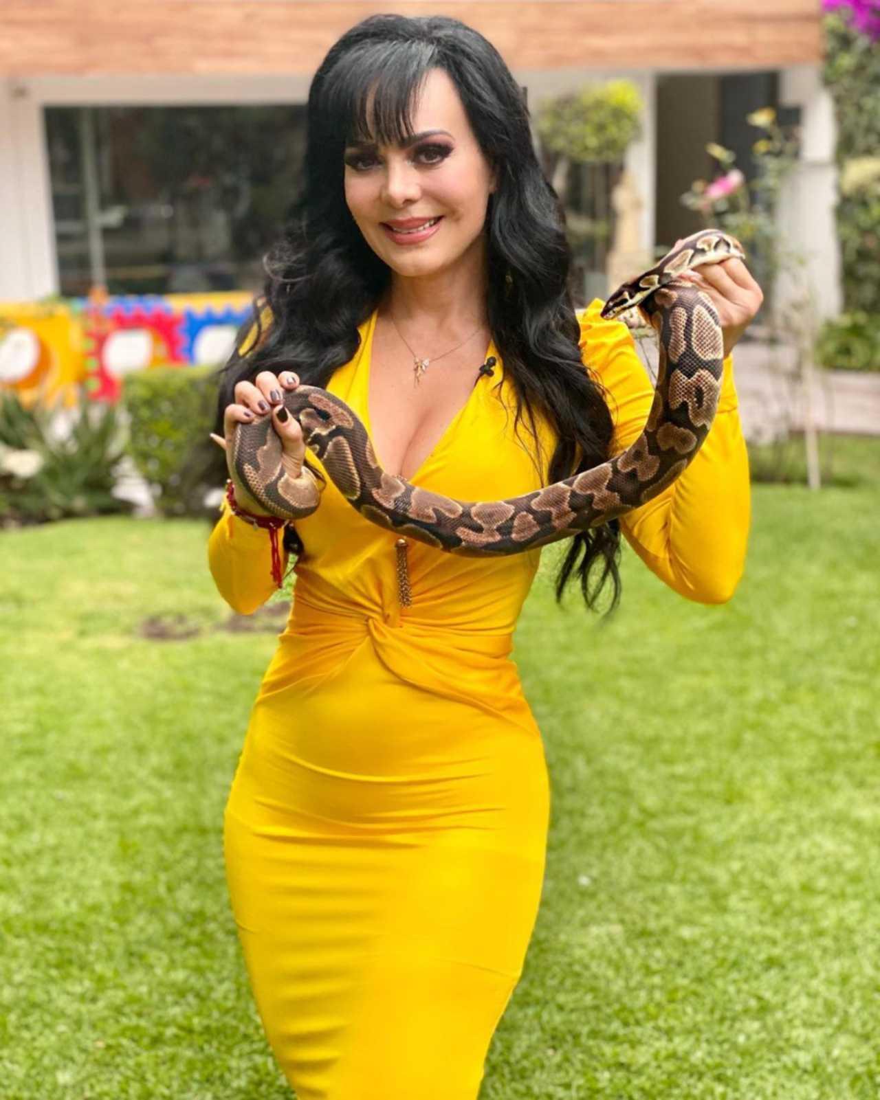 Maribel Guardia reacciona a foto de la Chilindrina