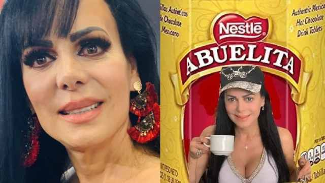 Maribel Guardia meme como la abuelita del chocolate