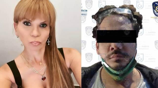 Mhoni Vidente y Rix detenido