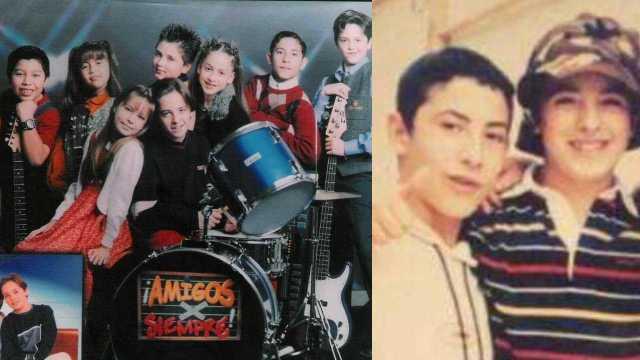 Mickey Santana, actor de 'Amigos x siempre', reaparece tras accidente que le desfiguró el rostro