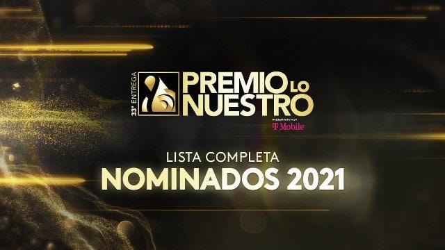 Nominados Premio Lo Nuestro