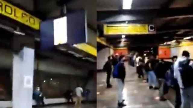 Proyectan video para adultos en pantallas del metro de la CDMX