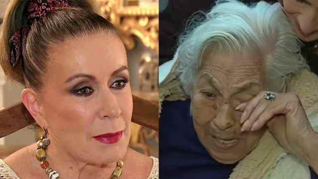 Revelan que Laura Zapata maltrata a su abuela, doña Eva Mange