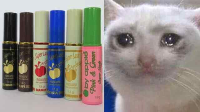 Rimel meme gato llorando