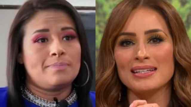 Toñita se lanza contra Cynthia Rodríguez y Carlos Rivera