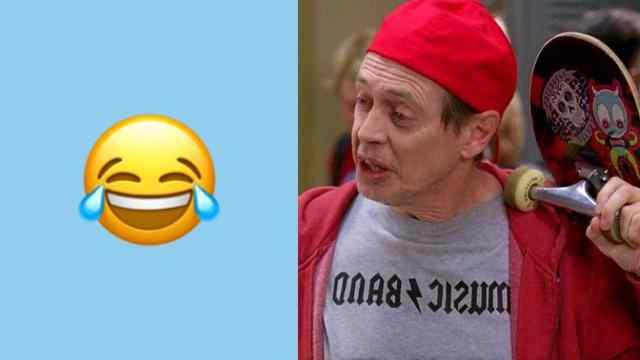 Emoji llorando de risa y meme chavorruco