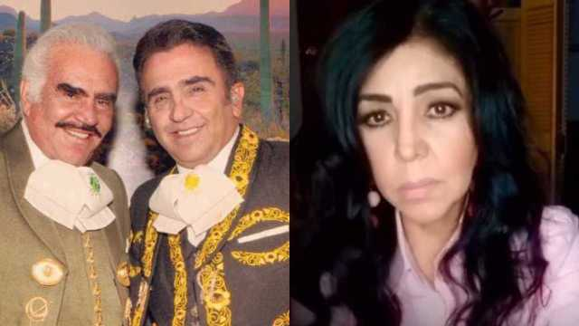 Vicente Fernández Jr. pide a Lupita Castro denunciar a su papá