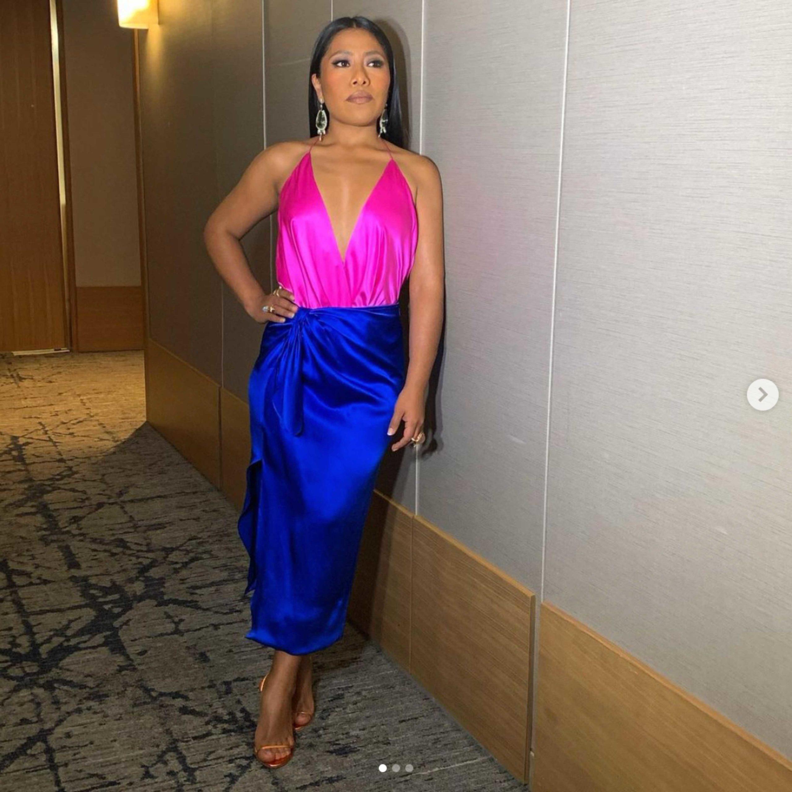 Yalitza Aparicio en los Golden Globes