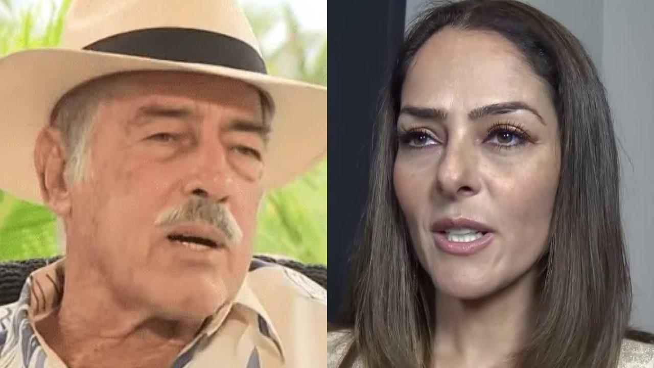 Andrés García desconoce a Andrea García porque no está seguro de ser su papá