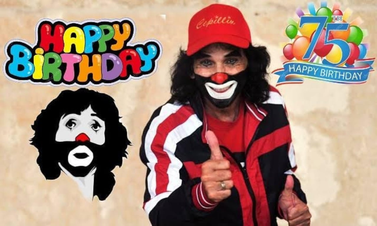 Cepillin festeja su cumpleaños