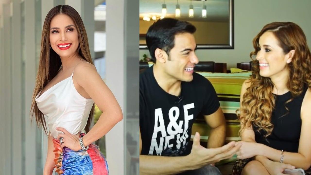 cynthia Rodriguez y Carlos Rivera felices