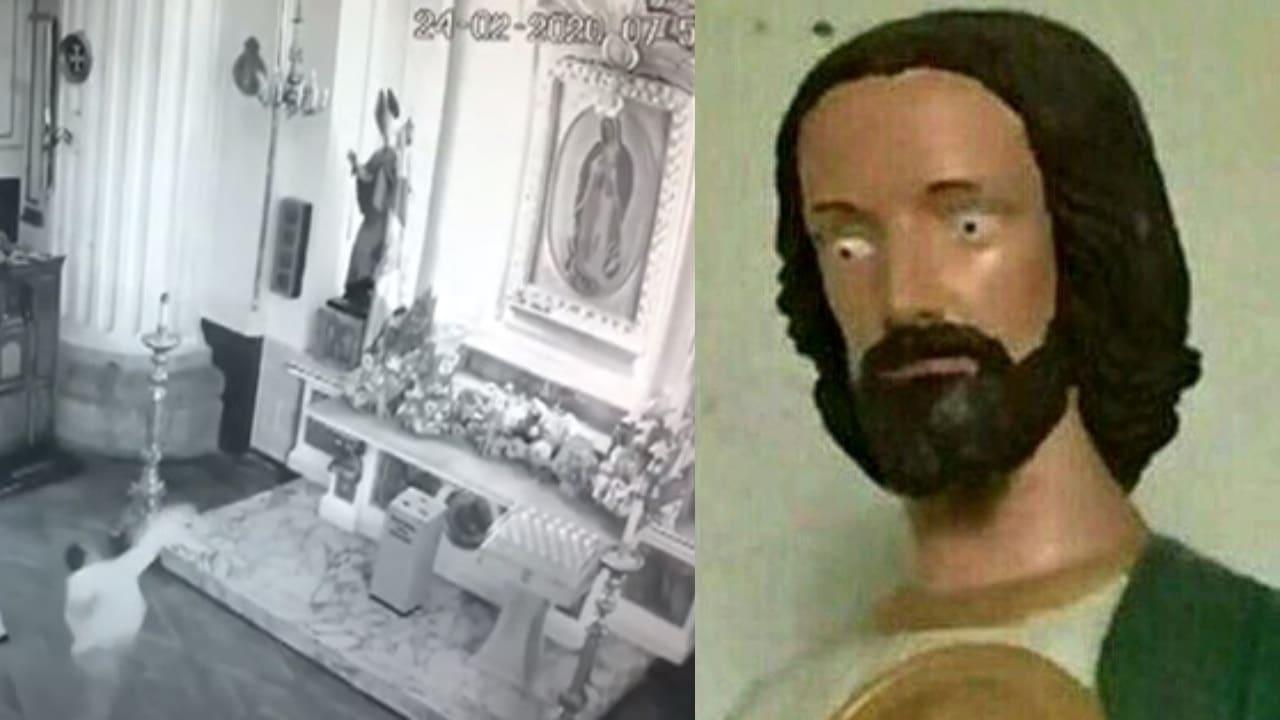 Apedrea Virgen de Guadalupe San Judas
