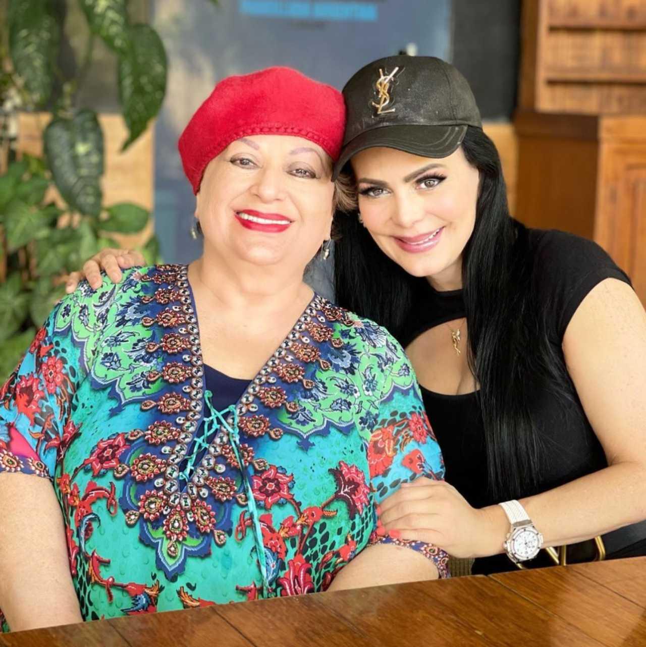 Maribel Guardia mamá Vilma Chacón
