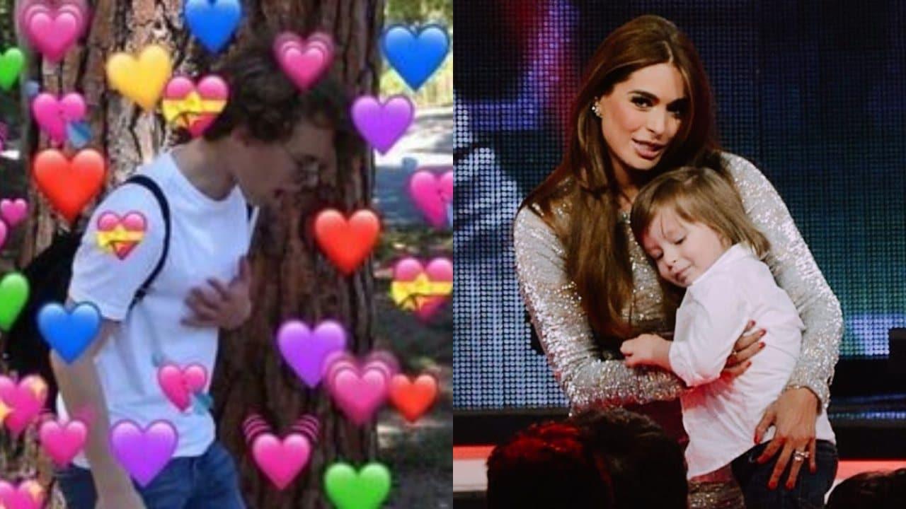 Galilea Montijo celebra el cumpleaños de su hijo en 'Hoy' y ya creció