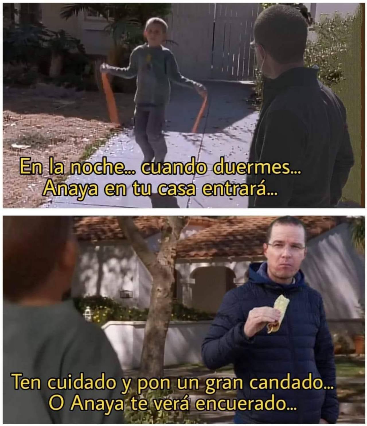 Ricardo Anaya memes para evitar que se meta en tu casa
