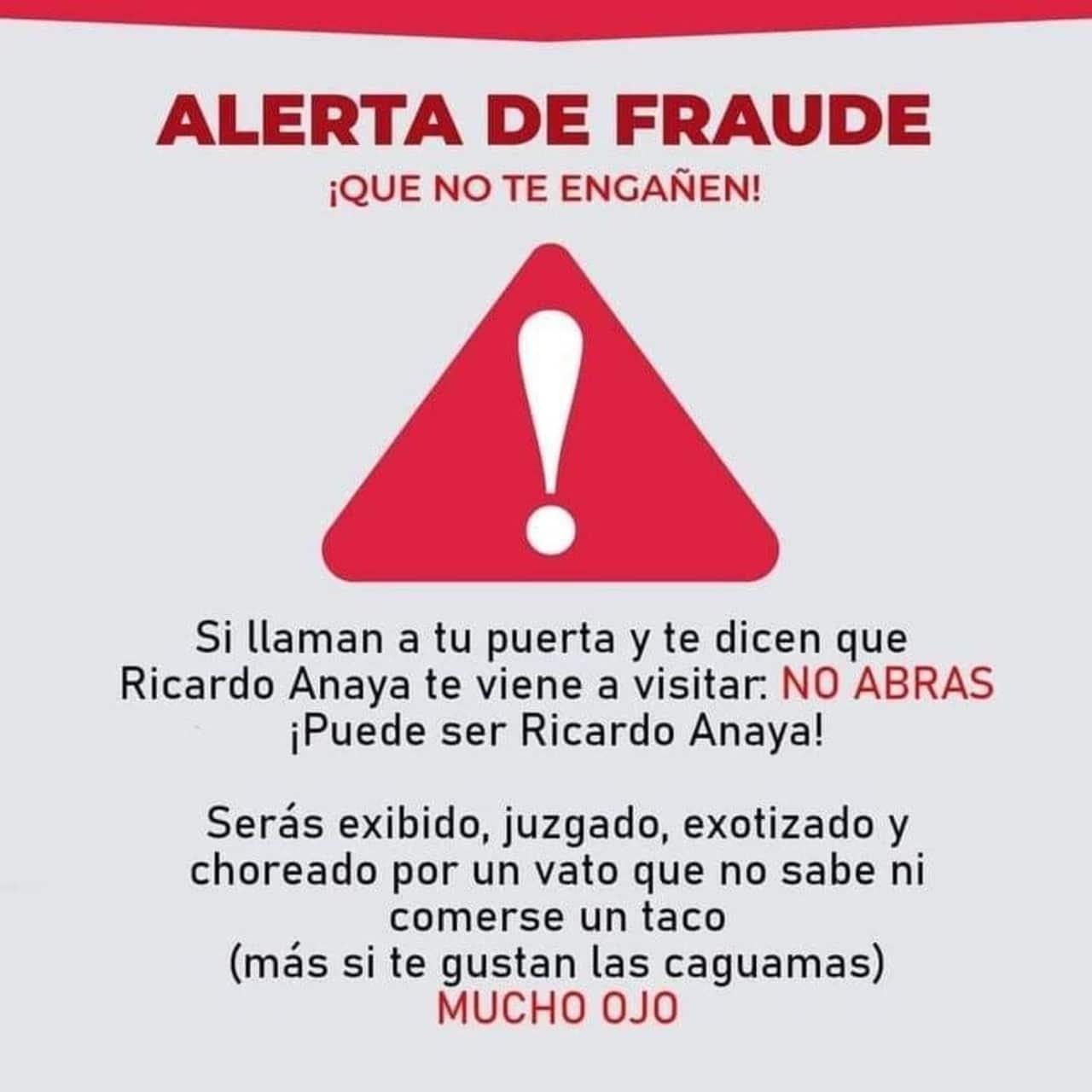 Memes Ricardo Anaya casa pobreza caguamas