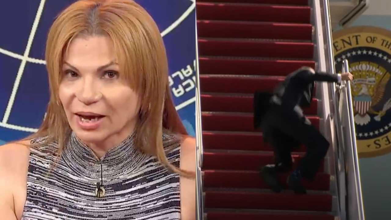 Mhoni Vidente predijo la caída de Joe Biden en un avión