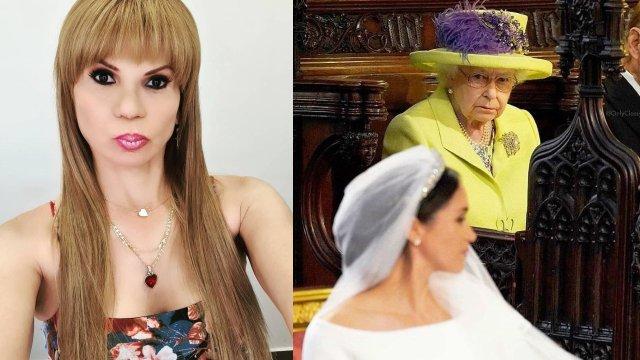 Mhoni Vidente Meghan y Reina isabel