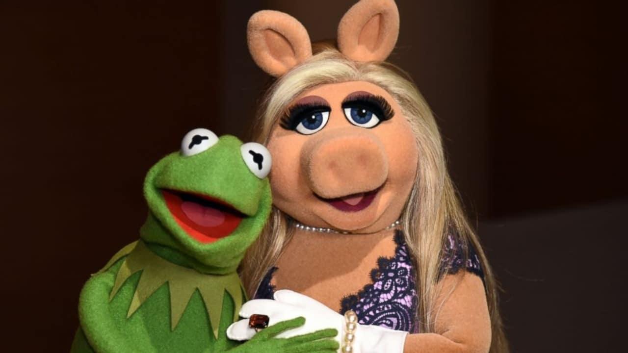 Miss Piggy y su esposo La Rana René