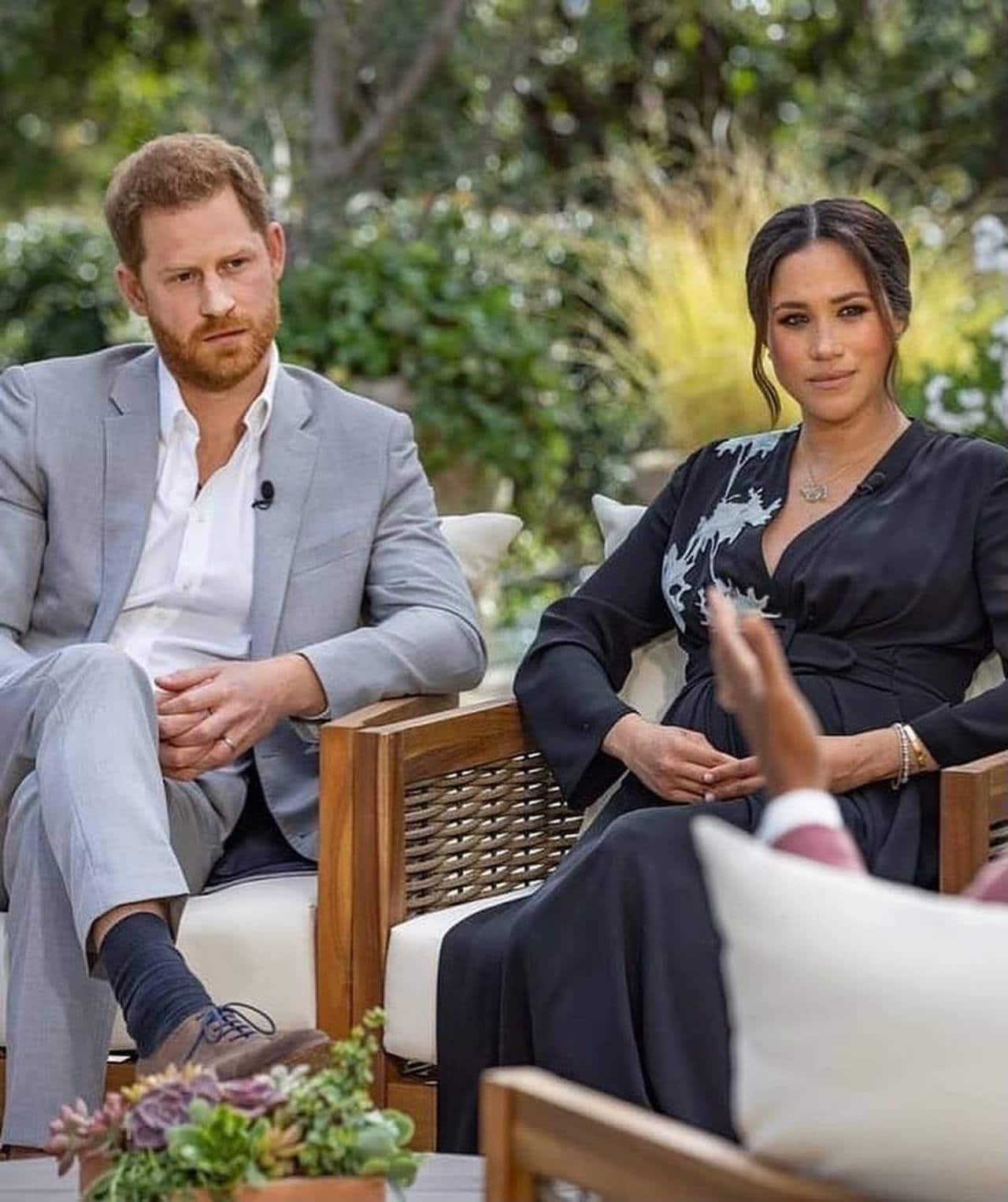 Meghan Markle y Harry en entrevista con Oprah