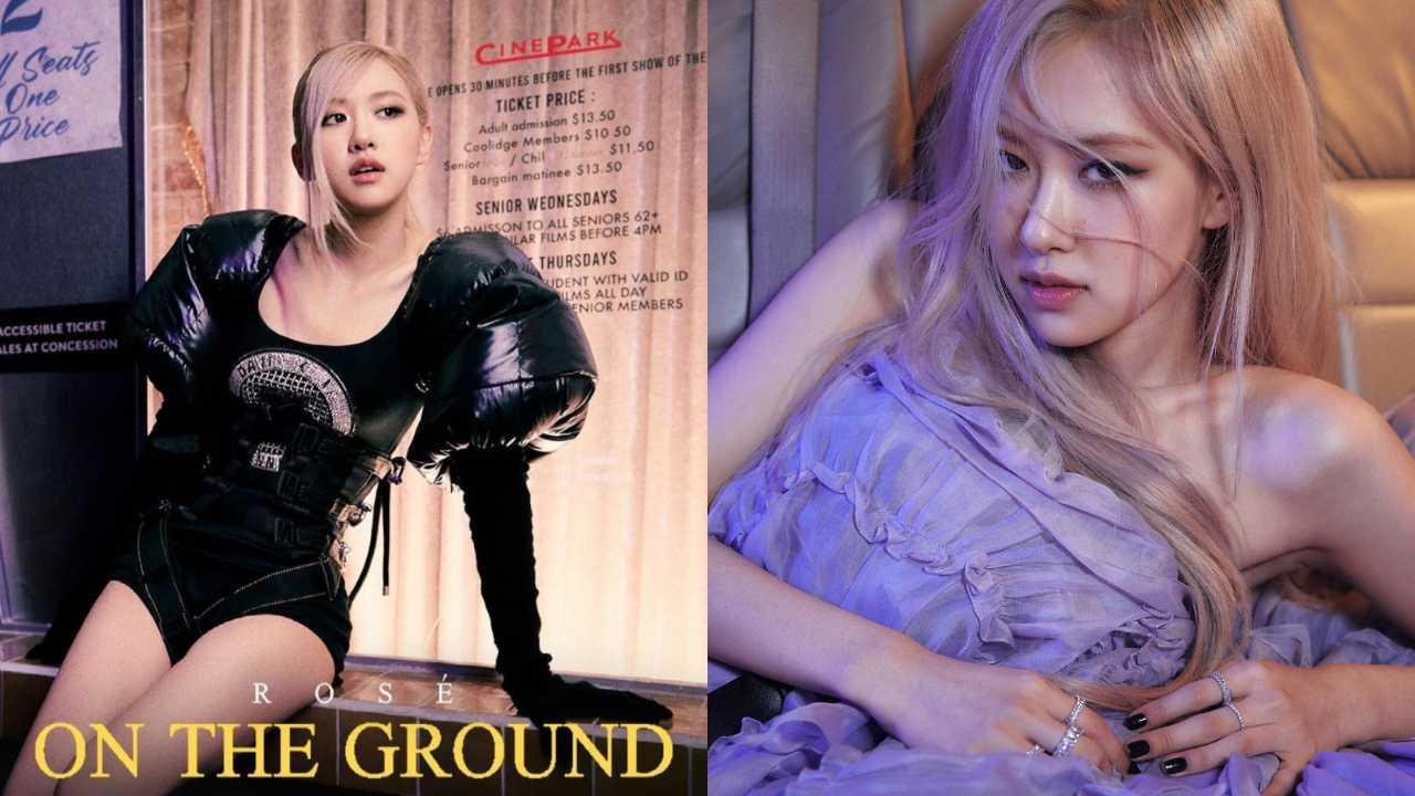 """Rosé de BLACKPINK lanza """"On The Ground"""", su debut como solista"""